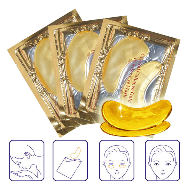 Crystal Collagen Anti-Puffiness/ Dark Circle/ Anti-Aging Eye Masks