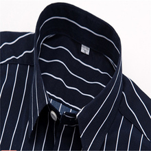 2018 Summer Branded Men Casual Shirts New Turn Down Collar Mans Short Sleeve Shirt Striped Soft Breathable Male Outwears YN10277