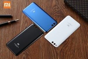 Image 3 - Original Glas Batterie Hinten Fall Für Xiaomi 6 Mi 6 Mi6 MCE16 Zurück Batterie Abdeckung Telefon Batterie Backshell Zurück Abdeckung fällen