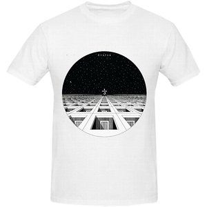 Trendy Creative Graphic T-shirt Top Blue Oyster Cult Blue Yster Cult Men Graphic O Neck White round neck cool man's T-shirt(China)