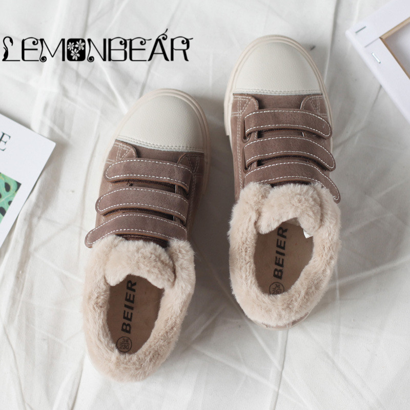 3bc9843f970 Detail Feedback Questions about Winter Warm Women Casual Shoes canvas  Platform Shoes Women Sneakers Ladies Trainers Chaussure Femme sneakers Low  cut snow ...
