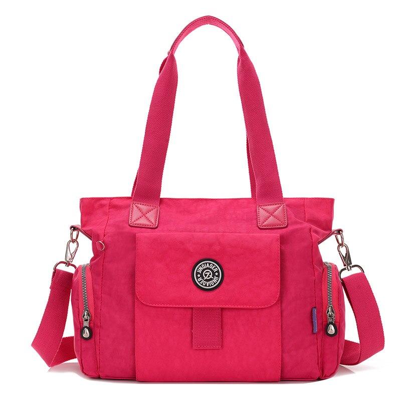 Новая мода женская сумка водонепроницаемый нейлон сумка высокое качество большой емкости портативных легкий женская кроссбоди мешок