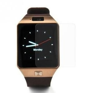 Image 2 - 3pcs 0.33MM Thickness Tempered Screen Film 9H Transparent Tempered Screen Film protect your DZ09 smart watch perfectly