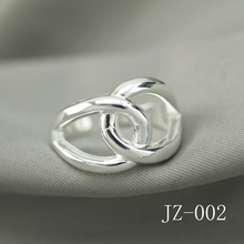 jz-002 Free shipping silver ring The woman began silver ring The woman began silver ring Love at first sight the silver ring