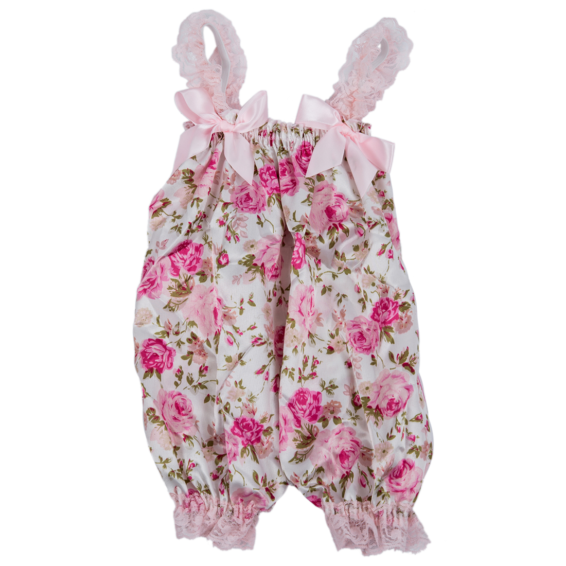 Newborn Infant Baby Girl Floral Ruffle Rompers Dress One ...