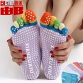 New Winter Women Toe Socks Cotton Non Slip Pilates Sock calcetines Warm Cute Socks With Five Fingers Sokken MS 5 anti-skid