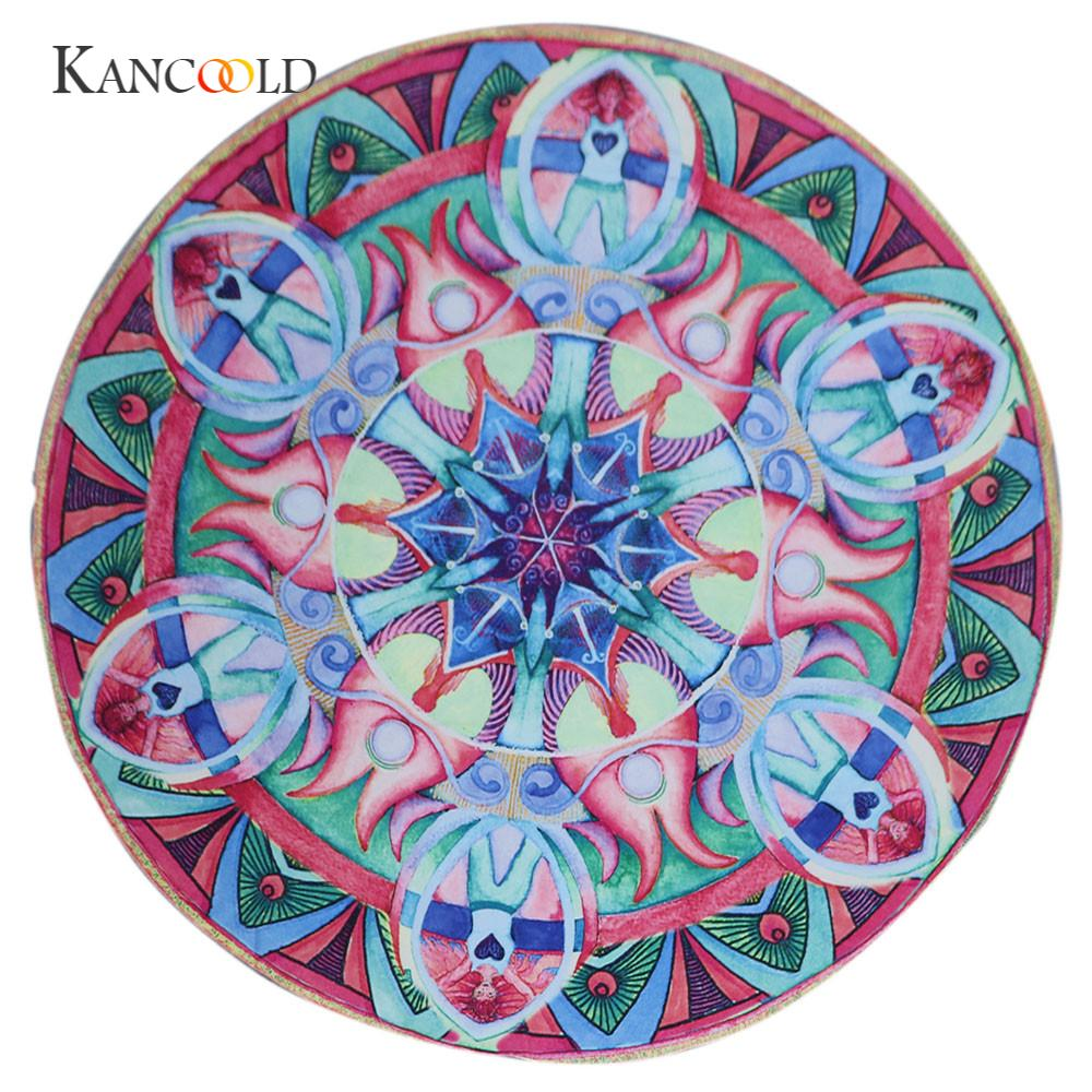 KANCOOLD silk scarf shawl Unique Style Printed Beach Cover Up Bikini Summer Dress Swimwear Bathing Suit Kimono Tunic JAN24