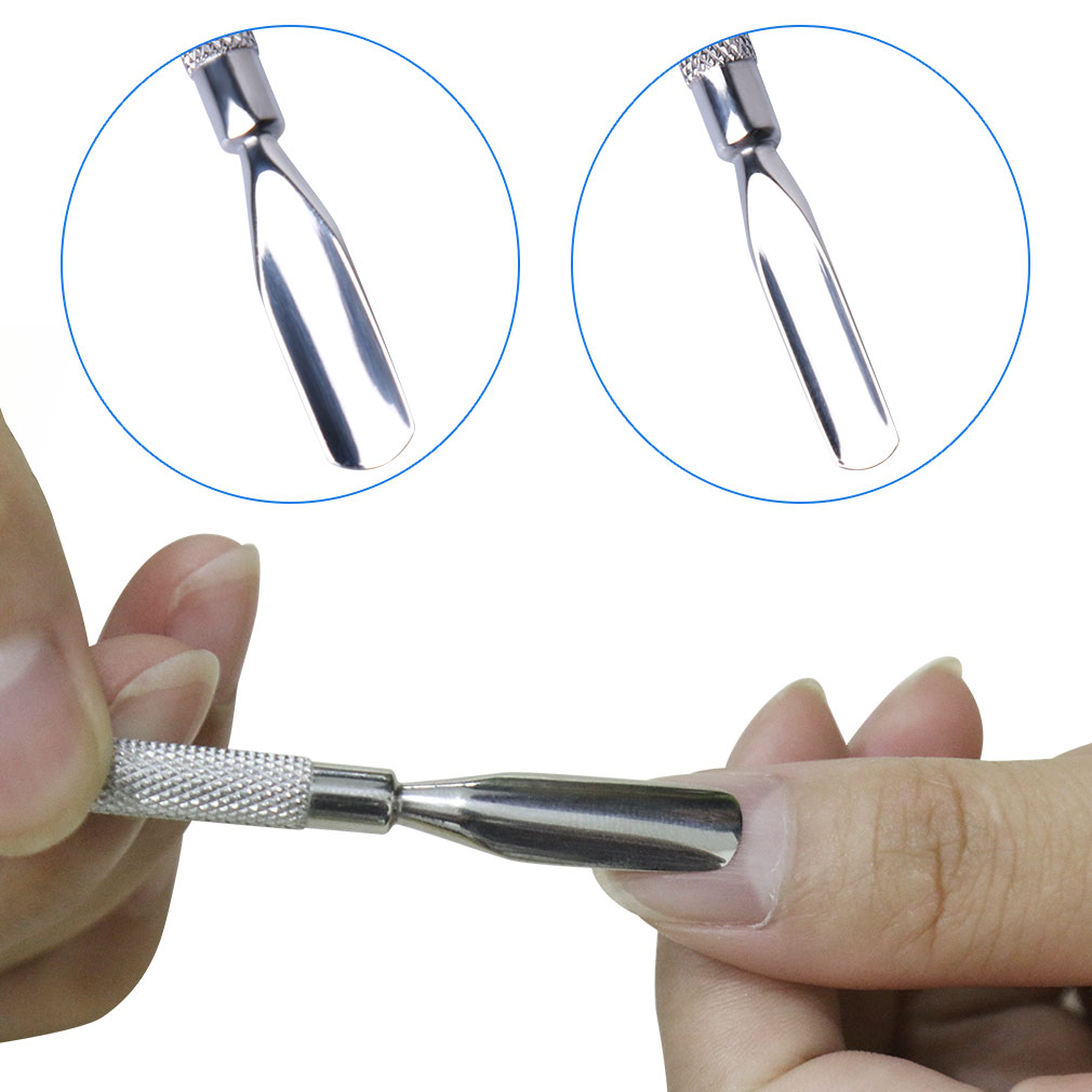 Elite99 Cuticle Pusher Remover Nail Art Tools Double End Spoon Nail ...
