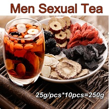 (Buy 3 Get 1 Free) Men Sexual Tea Good for Men Health Maca,Ginseng,Wolfberry,Huangjing,Red Dates, Mulberry