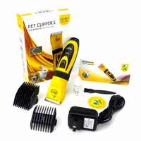 LILI 295 35 Вт электрические ножницы профессиональный триммер для волос домашних животных машинки для стрижки животных Триммер для собак 110-240 В ...