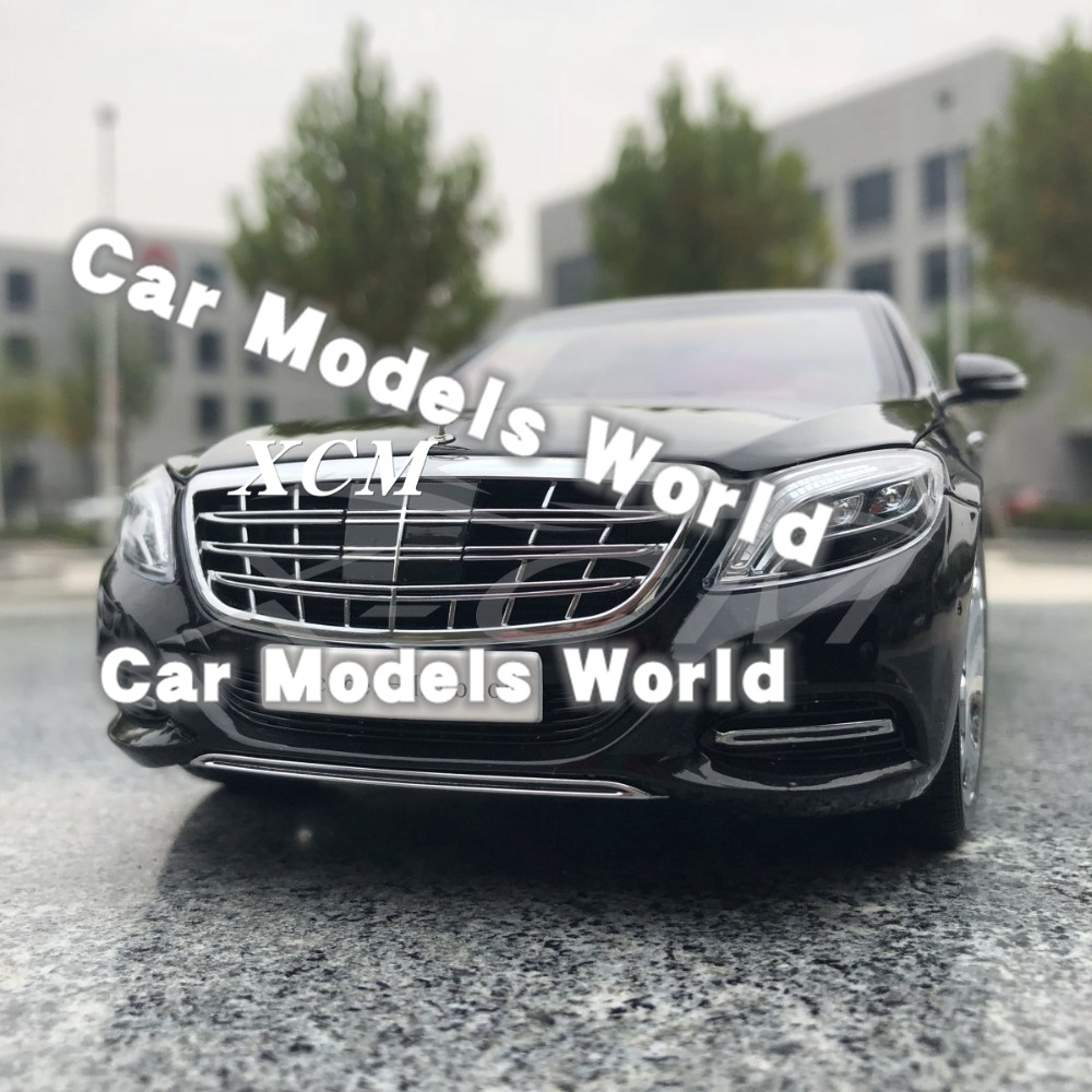 Diecast Car Model for Almost Real S Class 2016 1 18 Black SMALL GIFT