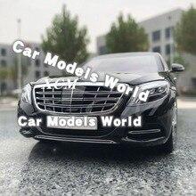 Pres döküm model araç Neredeyse Gerçek S Sınıfı 2016 1:18 (Siyah) + KÜÇÜK HEDIYE!!!!!