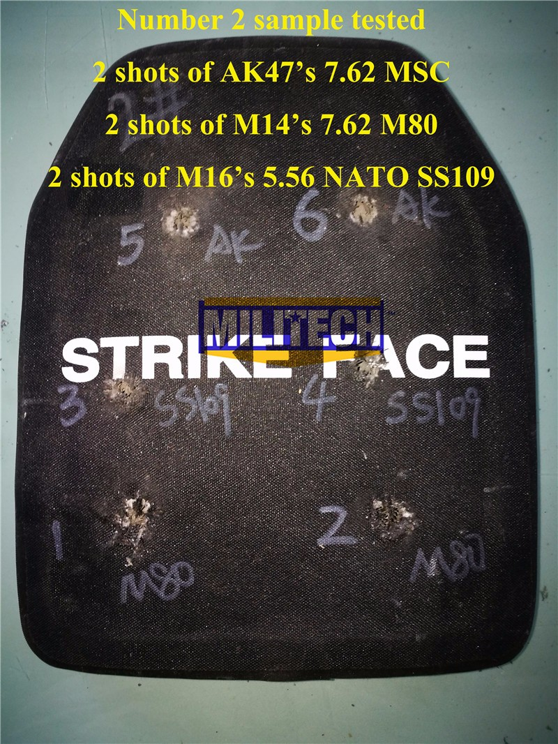 Cheap ballistic panel