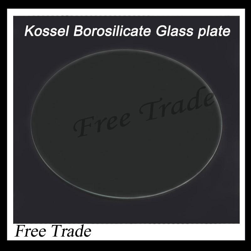 Rostock delta <font><b>KOSSEL</b></font> <font><b>Borosilicate</b></font> <font><b>Glass</b></font> <font><b>plate</b></font> <font><b>for</b></font> 3D Printers <font><b>ROUND</b></font> 300mm 3mm thick Boro <font><b>Glass</b></font> free ship