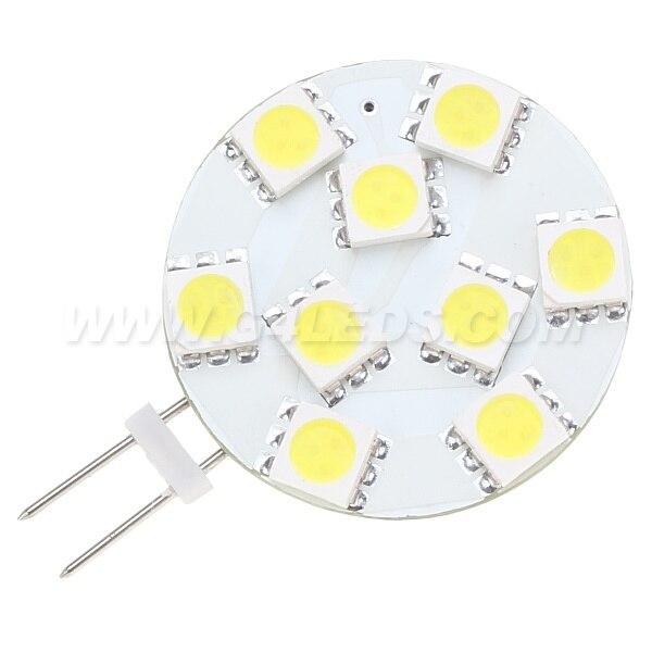 ac/dc10-30v G4 Led Lamp 9led Smd 5050 12vac/12vdc/24vdc/24vac 180-198lm White Warm White 10pcs/lot Shop For Cheap Free Shipping