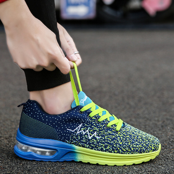 24cbc59d660 35-44 Unisex 2019 zapatillas de Tenis para Hombre zapatillas de deporte de  malla transpirable cojín de aire Tenis Hombre deportes al aire libre Hombre  ...