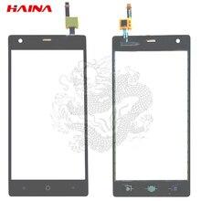 Для Micromax Q462 Canvas 5 Lite сенсорный экран панель дигитайзер Переднее стекло объектив сенсор аксессуары с гибким кабелем