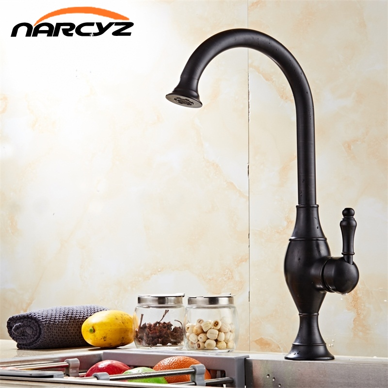 New Arrival Brass Kitchen Faucet Mixer Cold and Hot Kitchen Tap Single Hole Water Tap Torneira Cozinha Bathroom Faucets gappo new brass kitchen faucet mixer blackened kitchen sink tap single handle filtered water tap torneira cozinha crane g4390 10