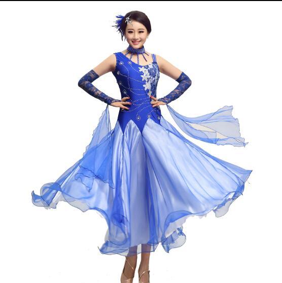 Tango dresses Woman 2017 Modern dance costume Ballroom dance competition dresses