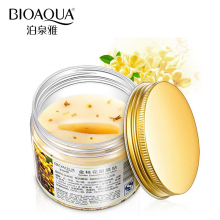 DHL 100PCS BIOAQUA Brand Eye Mask Golden Osmanthus Collagen Eye Skin Care Anti-Puffiness Dark Circle Moisturizing Eyemask