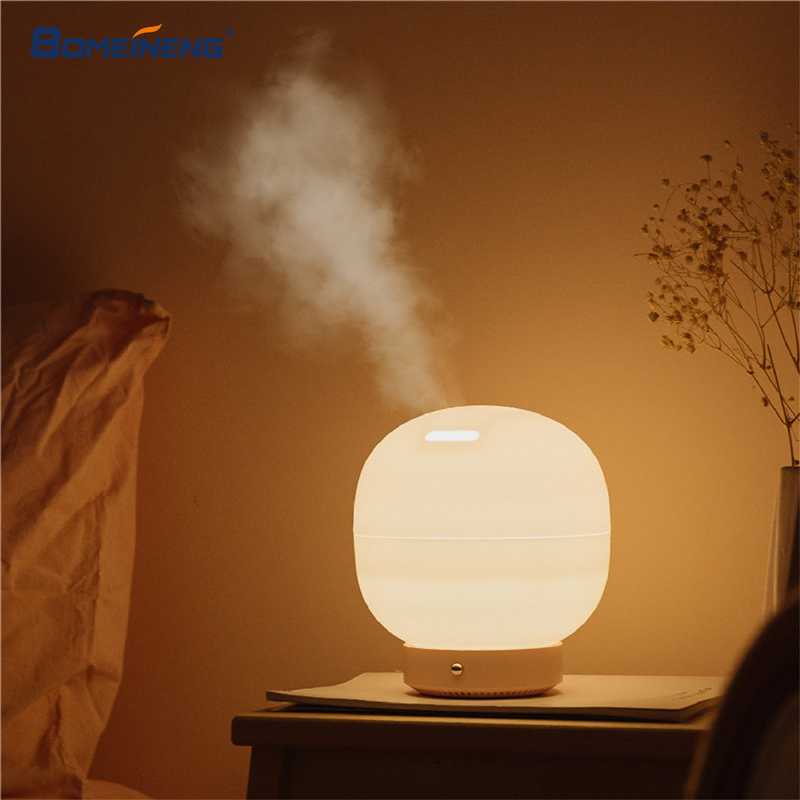 500ML Air Humidifier for Home Essential Oil Aroma Diffuser Ultrasonic Humidifier Aromatherapy Diffuser Mist Maker with LED Lamp