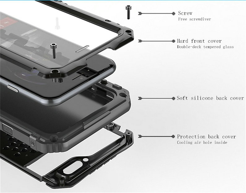 iphone luphie waterproof case (10)