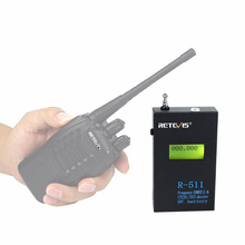 Retevis R-511 Portable Frequency Counter Meter 50MHz-2.4GHz CTCSS/DCS Analog Counter Test For Ham Radio Walkie Talkie C9036A