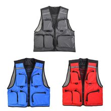Hot Breathable Fly Fishing Vest Mesh Multi-Pocket Vests Outdoor Sport Photography Quick Dry Hunt Hike Fisherman Clothes(China)