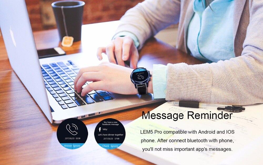 LEMFO LEM5 Pro Smart Watch Phone for Android LEMFO LEM5 Pro Smart Watch Phone for Android HTB1QAvhcogQMeJjy0Feq6xOEVXag