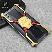 Iron Man Deluxe Metal Case for Huawei Mate20 Mate20pro Personality Bumper Shell Anti-drop and shockproof Phone
