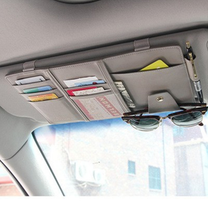 Universal sun visor storage clip for Land Rover LR4 LR3 LR2 Range Rover  Evoque Defender Discovery Freelander-in Stowing Tidying from Automobiles ... fb6e92ba328