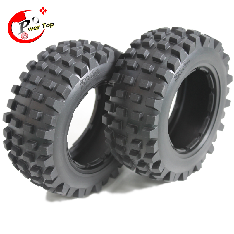 King Motor Baja T1000 desert tire tyre(rear) for HPI BAJA 5T Parts Rovan Free Shipping 5t highway road wheel set for 1 5 hpi baja 5t parts ts h85096 wholesale and retail free shipping