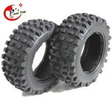 King Motor Baja T1000 desert tire tyre rear for HPI BAJA 5T Parts Rovan Free Shipping