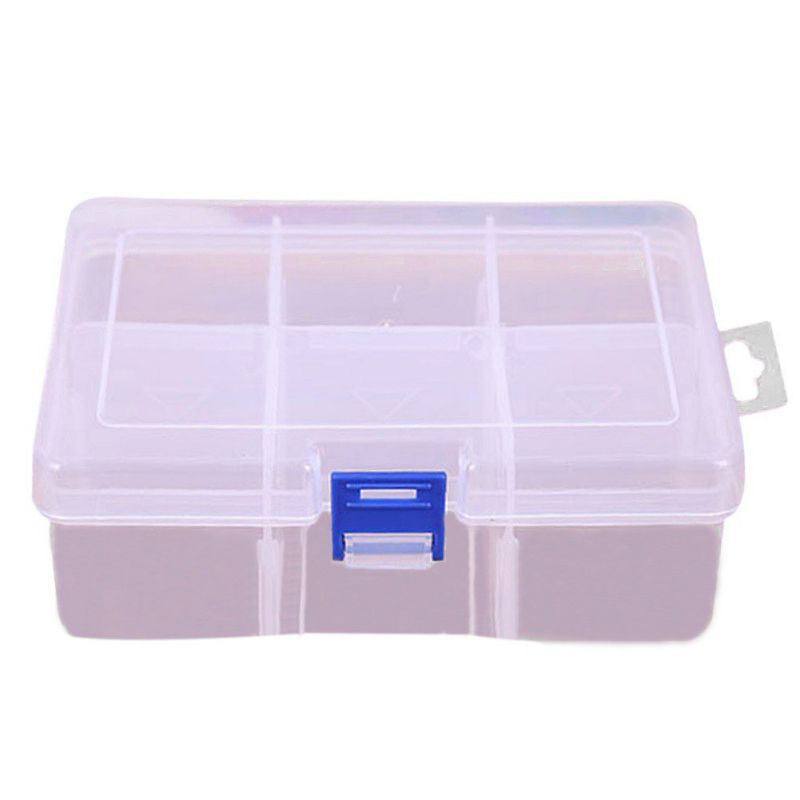 adjustable large plastic storage box compartment finishing desktop accessories parts containers newchina