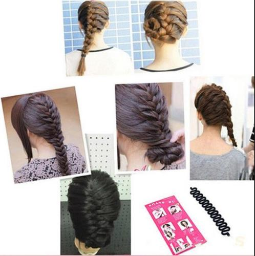 Braiders 1pcs Spider Hair Braider Hair Clips Band Made The Braided Hair Styling Tools Centipede Braid Aid Hair Beauty Tool Choice Materials