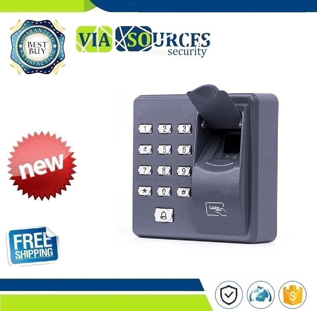 500 Users Biometric Standalone Fingerprint Access Control RFID Reader Scanner Sensor For Door Lock 10PCS TAGS biometric fingerprint access control system and 3000 rfid identification fingerprint reader sensor 10pcs key card