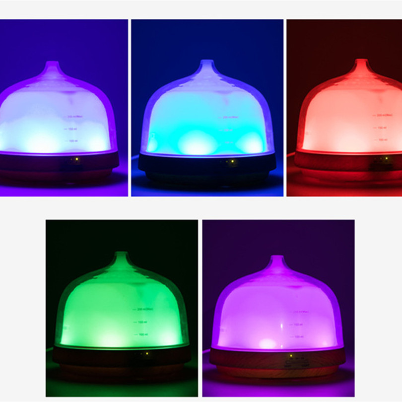 Aroma Diffuser Humidifier LED Colorful 24V 200ml Time Funksion Mog - Կենցաղային տեխնիկա - Լուսանկար 3
