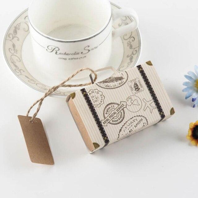 10 stücke Romantische DIY Hochzeit Favor Schokolade Boxen Vintage ...