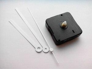 Image 5 - ¡Superventas! ¡500 Uds.! Reloj de pared DIY con manecillas de reloj blancas sin Tic Sweep Kit de movimiento para reloj de cuarzo