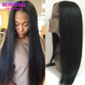 Unprocessed Brazilian U Part Wigs Virgin Hair Long Straight Side/Middle Part U Part Wigs For Black Women U Shaped Human Hair Wig