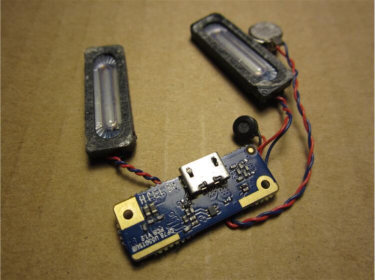 100% Original USB Charging Microphone Connector Port Jack Board For Cube U55GT Talk 79 U65GT Talk 9X Tablet 7.0