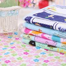 Changing Pads Covers Reusable Baby Diapers Mattress Diapers for Newborns Random Pattern Linens Waterproof Sheet Changing Mat(China)