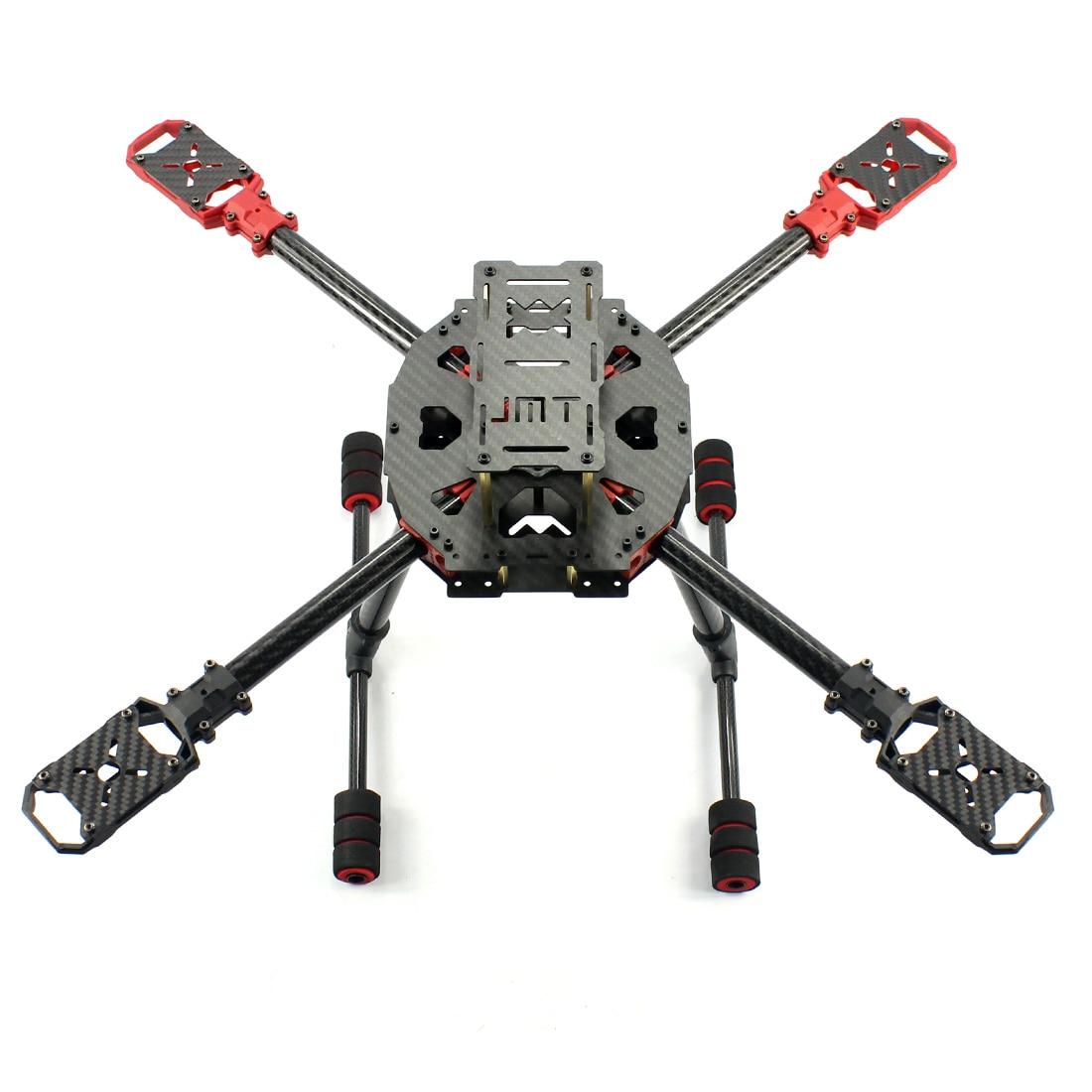 JMT J630 630mm Carbon Fiber 4 axis Foldable Rack Frame Kit High Landing Skid for DIY