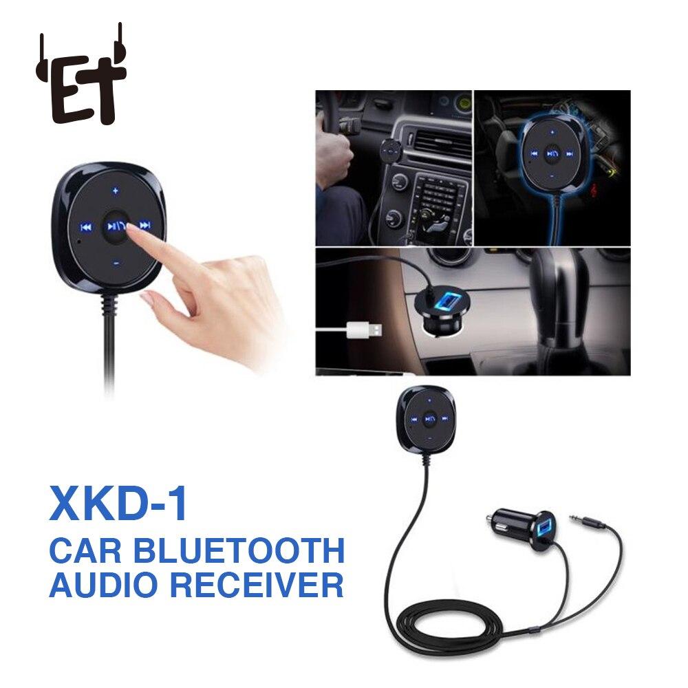 Freies Auto Kit Diskret Et Auto Bluetooth Audio Empfänger 4,0 Empfänger Musik Audio Receiver Adapter Aux A2dp Für 3,5mm Lautsprecher Empfänger Hände Unterhaltungselektronik