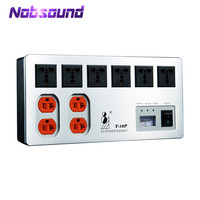 Nobsound High end Power Purifier Power Supply Filter AC Socket for Speaker / Tube Amplifier / Audio Video System HiFi