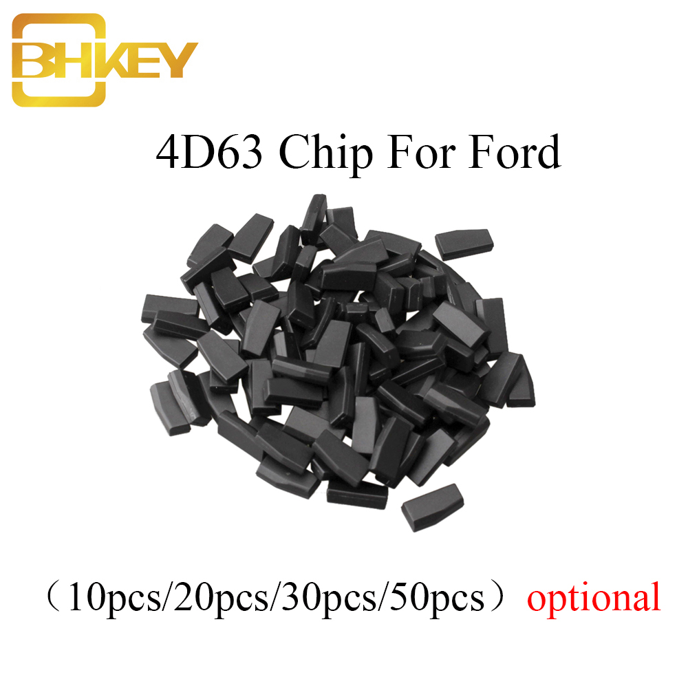BHKEY 10X 20X 30X 50X For Ford Auto Transponder Chip 4D63 40Bit / 80Bit 4D ID63 Chip For Mazda For Ford For Mecury