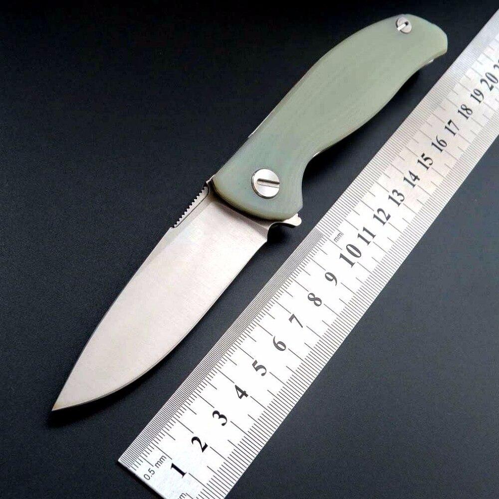 Eafengrow F3 Couteau Pliant roulement à billes Camping couteaux G10 Poignée de Poche Couteau Tactique Flipper En Plein Air Outil de Survie Couteaux