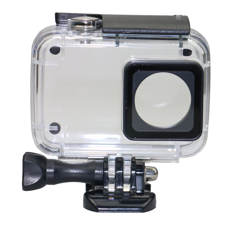 Tauchen Schutz Gehäuse Wasserdicht Fall Shell 40 mt für Xiaomi 4 karat/Yi 4 karat +/Yi Lite /YI Entdeckung 4 karat Action Kamera mit Halterung
