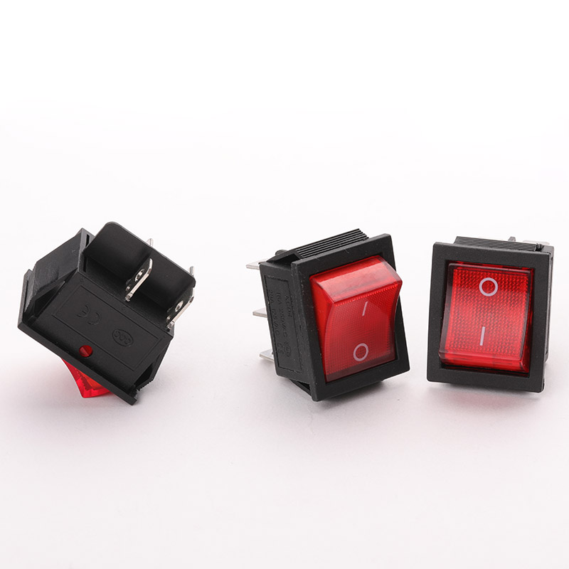 Approximate Length 31mm Width 25.3mm Height 28mm4 Foot / 6 Boat Type Switch Button High Quality Power