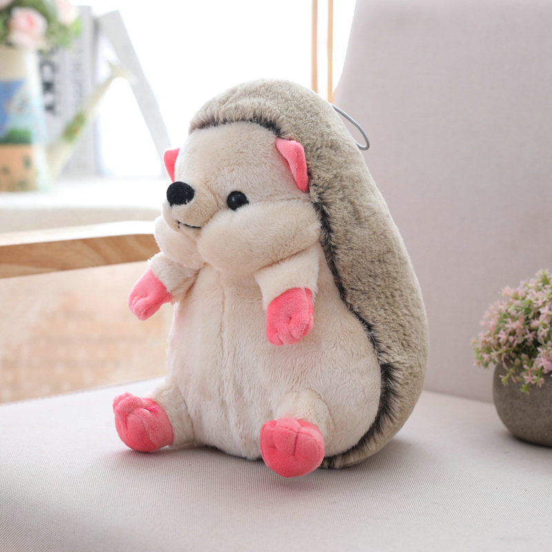 Drop 1pc 25/35cm Cute Lovely Hedgehog Plush Doll Staffed Animal Plush Toys Soft Cartoon Pillow Kids Toy Kawaii Gift for Girls
